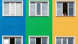 Sebuah hunian di Instabul dengan arsitektur yang unik. Para Fotografer di Turki banyak mengambil gambar - gambar yang unik dari gedung - gedung di Turki dengan arsitektur menarik. (Dailymail.co.uk)