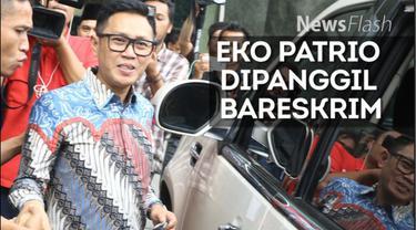 Eko Patrio akhirnya memenuhi panggilan Bareskrim Polri terkait tudingan pernyataan tentang penangkapan teroris