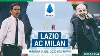 Serie A - Lazio Vs AC Milan - Head to Head Pelatih (Bola.com/Adreanus Titus)