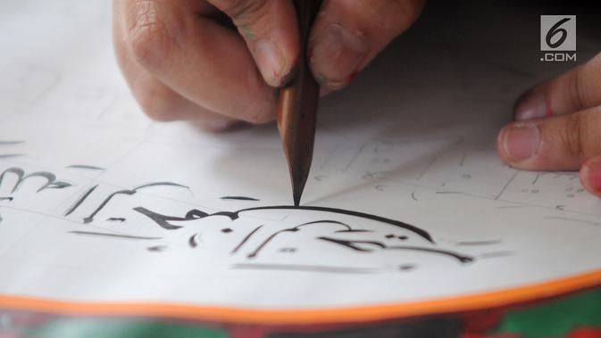8 Cara Membuat Kaligrafi Dengan Pensil 2b Yang Mudah Dilakukan Hot Liputan6 Com