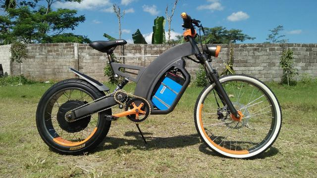 Aki Biasa Terlampau Berat, Sepeda Listrik Le-Bui Pilih