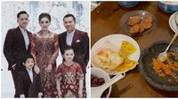 Momen hangat keluarga Anang Hermasnyah santap sahur dihari pertama. (Sumber: Instagram/@ananghijau)
