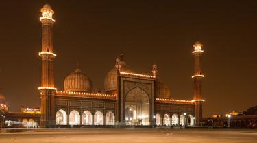 Ilustrasi masjid, Iduladha