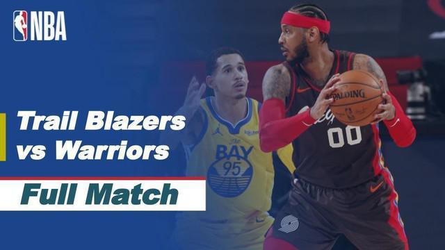 Berita video highlights NBA ada Portland Trail Blazer yang berhasil mengalahkan Golden State Warriors dengan skor 108-106.