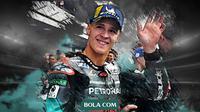 Pebalap MotoGP: Fabio Quartararo. (Bola.com/Dody Iryawan)