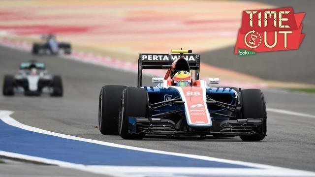 Rio Haryanto menilai performa mobil MRT05 pada latihan bebas F1 GP Bahrain menunjukkan kemajuan dibanding saat seri pertama di Sirkuit Sakhir, Bahrain.