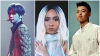 Kang Daniel, Niki, Rich Brian (Instagram/ konnect_kangdaniel - nikizefanya - brianimanuel)