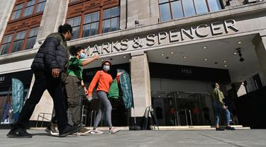 Peretail Inggris Marks & Spencer akan Pangkas 7.000 Pekerja