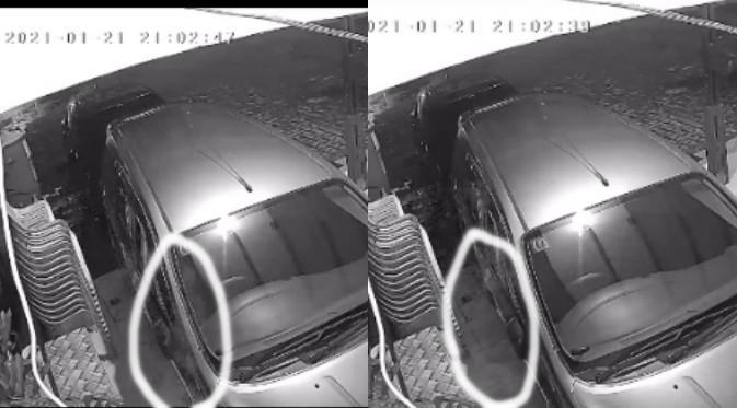 Viral Dua Hari Pasang CCTV, Warganet Ini Mendapati Penampakan Misterius. (Sumber: TikTok/__jgm)