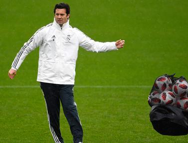 Real Madrid-Santiago Solari