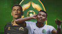 Persikabo 1973 - Ciro Alves dan Ahmad Nufiandani (Bola.com/Adreanus Titus)
