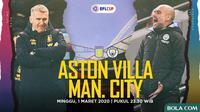 EFL Cup Final - Aston Villa Vs Manchester City (Bola.com/Adreanus Titus)