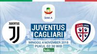 Serie A Juventus Vs Cagliari (Bola.com/Adreanus Titus)