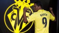 Carlos Bacca pindah dari AC Milan ke Villarreal pada Rabu (16/8/2017). (dok. Villarreal CF)