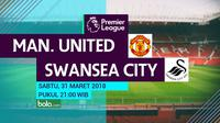 Premier League_Manchester United Vs Swansea City (Bola.com/Adreanus Titus)