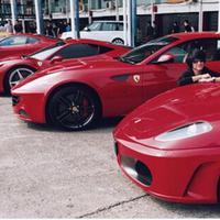 Inilah Ferrari milik Kevin Aprilio (Instagram @kevinaprilio)