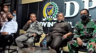 Jumpa pers usai RDP terkait Operasi Madago Raya