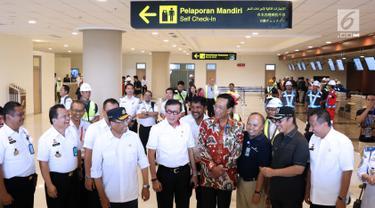 Menkumham Cek Kesiapan Petugas Imigrasi Bandara Internasional Yogyakarta