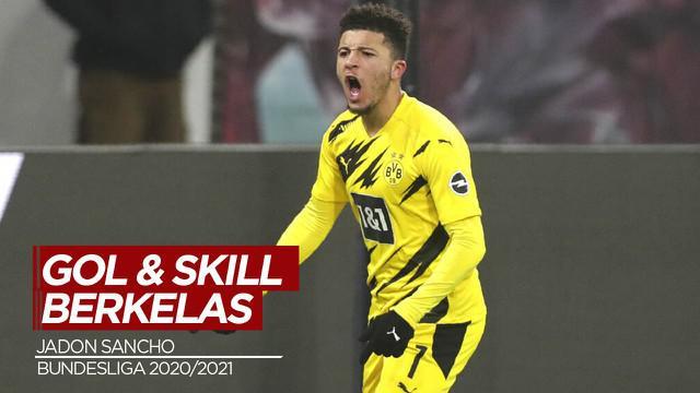 Berita Video Melihat Skill dan Gol Berkelas dari Bintang Borussia Dortmund, Jadon Sancho di Bundesliga Musim Ini