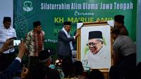 Wakil Presiden Ma'ruf Amin di Magelang, Jawa Tengah, Kamis (7/11/2019). (Merdeka.com/ Intan Umbari Prihatin)