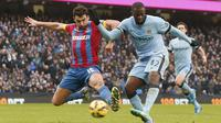Manchester City vs Crystal palace (REUTERS/Phil Noble)