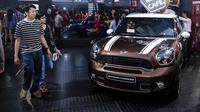 MINI melaporkan, berhasil menjual sebanyak 110 unit kendaraan, atau naik 20 persen jika dibandingkan pencapaian di IIMS 2013.