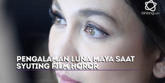 Luna Maya sudah pernah main film horor Bangsal 13 dan The Doll 2. Perbedaan apa yang Luna rasakan?