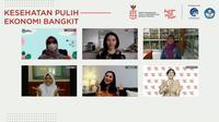 Webinar bertema Bersiap Sekolah Tatap Muka Terbatas. (Foto: Istimewa).