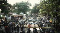 Custom War diselenggarakan selama dua hari itu bertempat di Taman Festival Bali, Pantai Padang Galak, Denpasar, Bali. (ist)