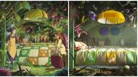 Interior studio Ghibli (Sumber: Boredpanda)