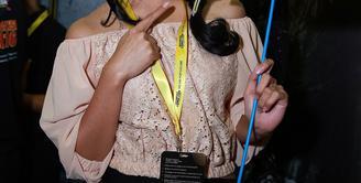 Anisa Rahma didapuk menjadi salah satu pemeran di film action berjudul 'Jagoan Instan'. Karenanya mantan personel Cherrybelle ini dituntut untuk melakoni beberapa adegan action. (Deki Prayoga/Bintang.com)