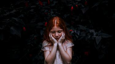 Ilustrasi anak dengan gangguan mental
