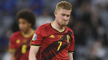 Foto Piala Eropa: Italia Masih Jaga Rekor Tak Terkalahkan Usai Singkirkan Belgia dari Perempatfinal Euro 2020