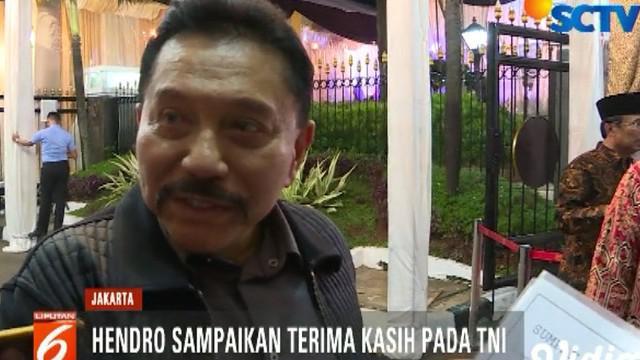 Menurut Hendro, TNI dapat mengawal proses pemilu karena selama ini prajurit TNI memegang teguh sumpah prajurit dan sapta marga.