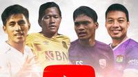 Youtube - Hamka Hamzah, Ferdinand Sinaga, Adam Alis, Hanif Sjahbandi (Bola.com/Adreanus Titus)