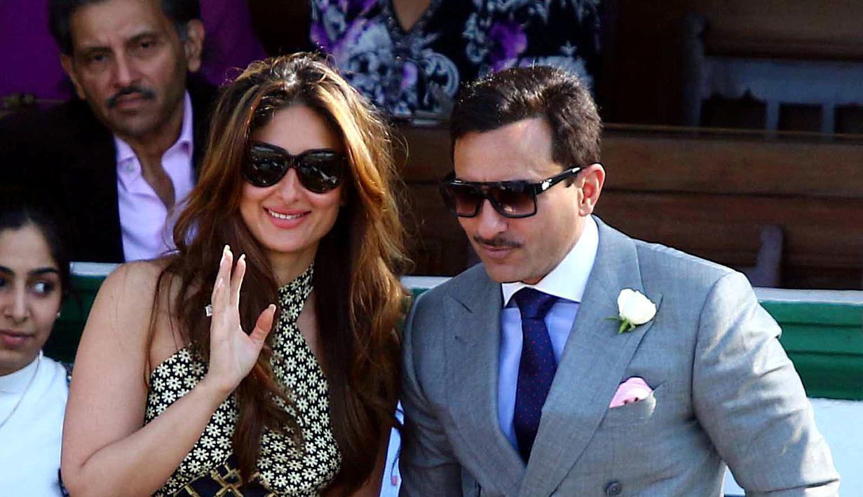 Aktris Bollywood Kareena Kapoor selalu tampil cantik di setiap kesempatan. Tak membatasi aktivitasnya, istri dari Saif Ali Khan ini selalu tampil modis setiap waktu di masa kehamilannya. (AFP/Bintang.com)