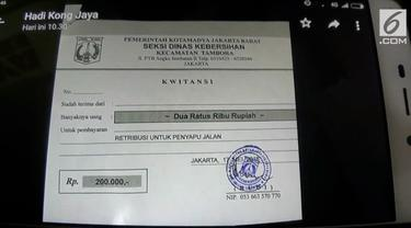 Beredar surat permohonan THR palsu dari Suku Dinas Kebersihan yang resahkan pengusaha di Jakarta Barat.