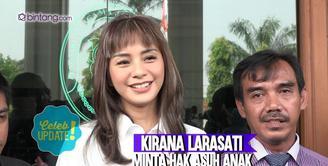 Gugat cerai suami, Kirana Larasati ternyata masih dinafkahi dan berkomunikasi dengan suami.