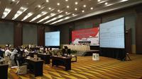 Rapat pleno terbuka rekapitulasi hasil pemungutan suara dan penetapan hasil Pilkada Medan digelar Komisi Pemilihan Umum (KPU) Kota Medan