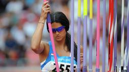 Leryn Franco lahir di Asuncion, Paraguay pada 1 Maret 1982. (AFP/Gabriel Bouys)