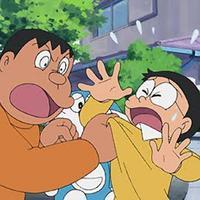 Nobita sering merengek dan mengadu pada Doraemon karena Giant melakukan 5 hal ini. (Via: pattyopines.blogspot.com)