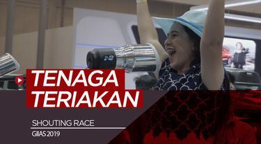 Berita video apa jadinya bila sebuah balapan mobil menggunakan tenaga bukan mesin melainkan teriakan manusia? Game ini ditemui di event GIIAS 2019.