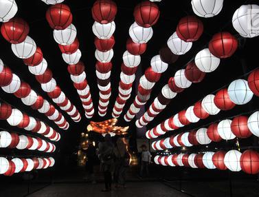Gemerlap Festival of Light Monas Sambut HUT ke-74 RI