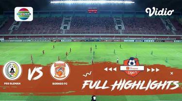Berita Video Highlights Shopee Liga 1 2019, PSS Sleman Vs Borneo FC, 0-1