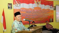 Hidayat Nur Wahid terus lakukan Sosialisasi Empat Pilar MPR RI kepada generasi muda, agenda kedua hari ini dilakukan kepada santri pesantren