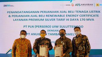 Dukung Industri Baterai Mobil Listrik, PLN Pasok Listrik EBT 170 MVA ke Smelter KEK Palu