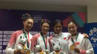 Kaka, Maskot Favorit Atlet Asian Games 2018 (Liputan6.com/Lutfhfie)