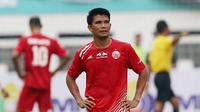 Gelandang Persija Jakarta, Sandi Sute, saat melawan Bali United pada laga Piala Indonesia 2019 di Stadion Wibawa Mukti, Minggu (5/5). Persija menang 1-0 atas Bali United. (Bola.com/M Iqbal Ichsan)
