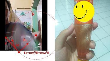 Pemuda Ini Bikin Trik Mudah Keluarkan Saus Sisa dari Botol, Perlu Dicoba