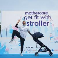 Ibu bisa olahraga dengan stroller. (Foto: Dok. Mothercare)